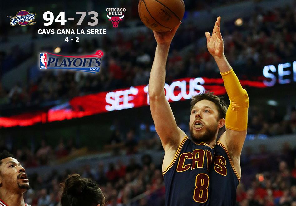 Los Cavaliers acaban con Chicago por viva basquet