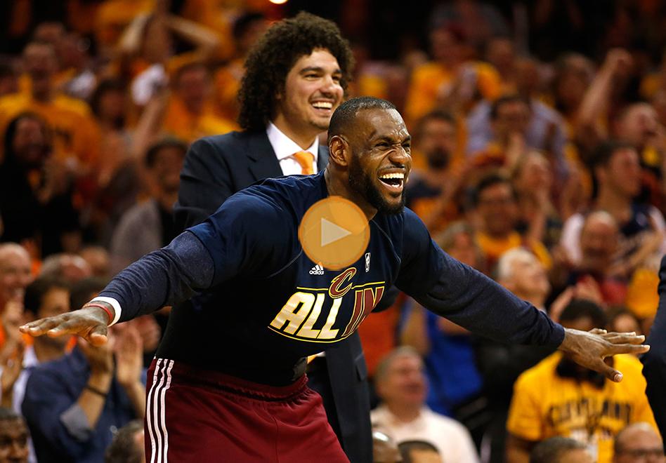 LeBron y los Cavs reyes de la Conferencia Este por viva basquet