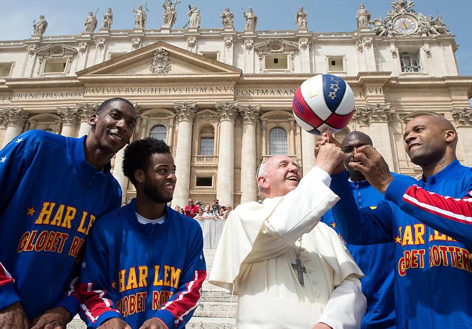 Visita especial en el Vaticano por Viva Basquet