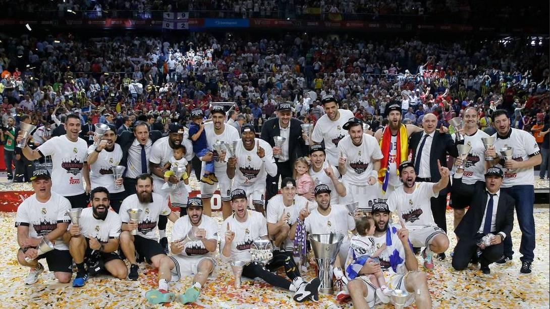 Real Madrid el Rey de Europa por Viva Basquet