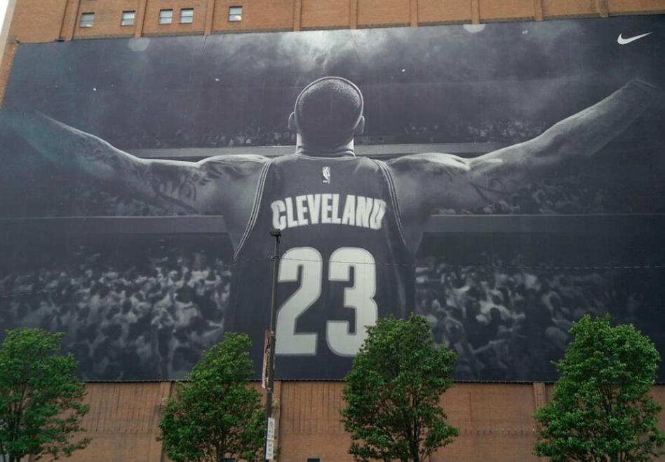 Cleveland se viste de fiesta para las Finales por Viva Basquet