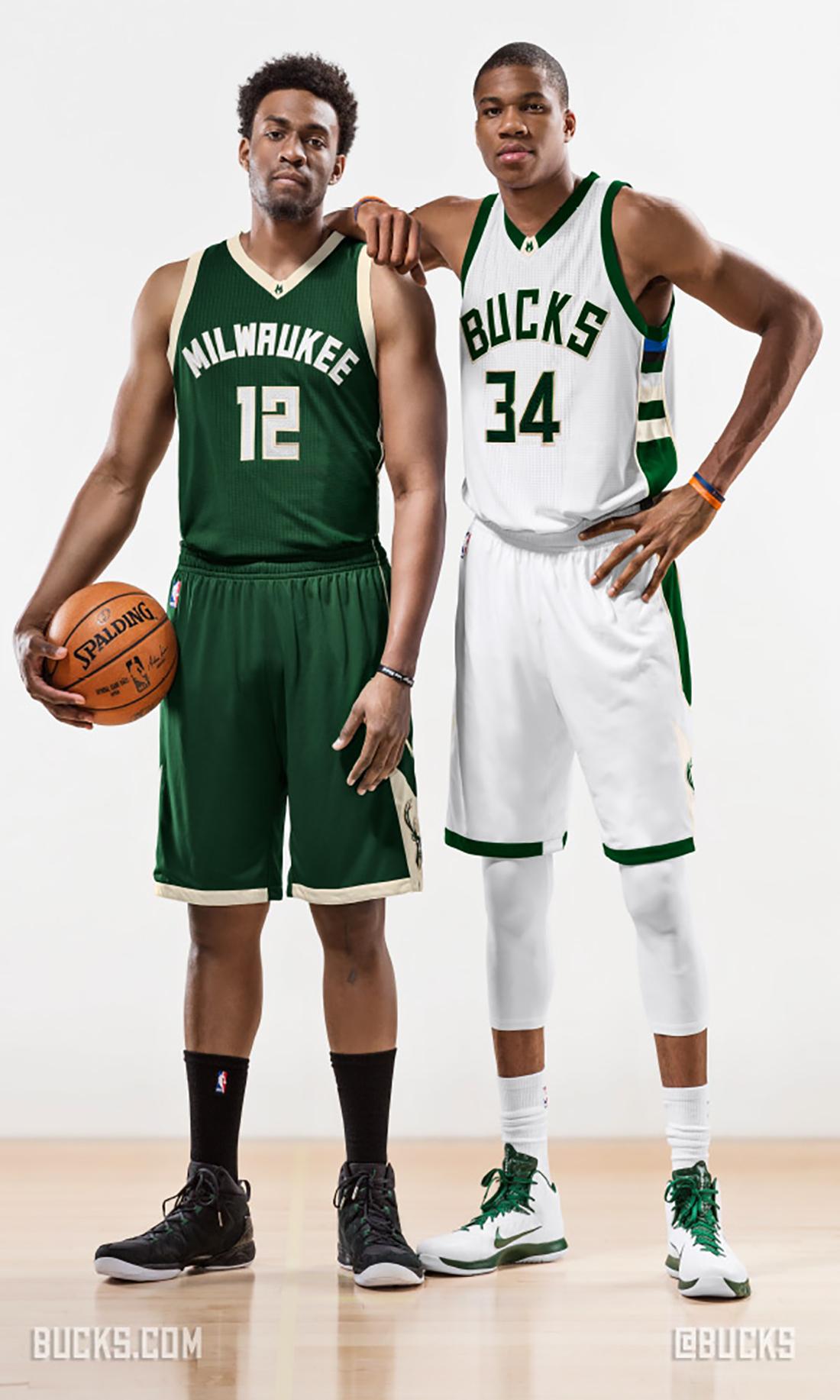 Los Bucks estrenan uniformes por viva basquet