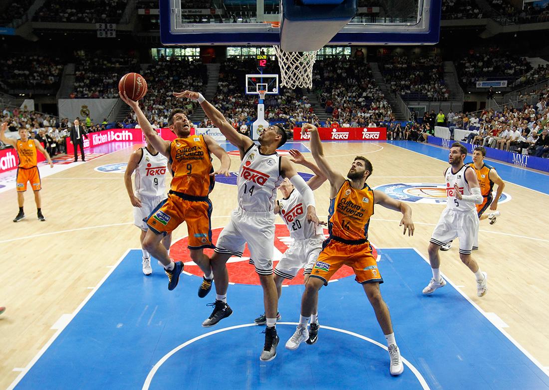 Sorprenden al Madrid en la Liga Endesa por viva basquet