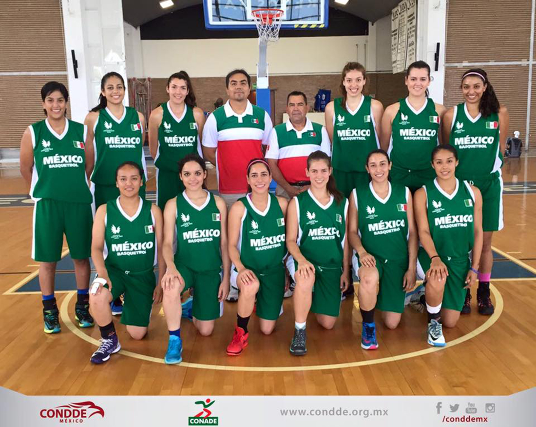 Mexicanas listas para la Universiada Mundial por viva basquet