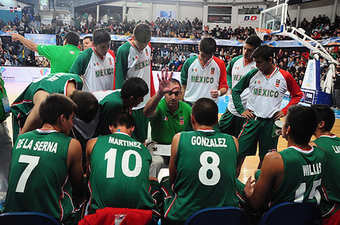 Debutan con Derrota en el FIBA Américas U-16 por viva basquet