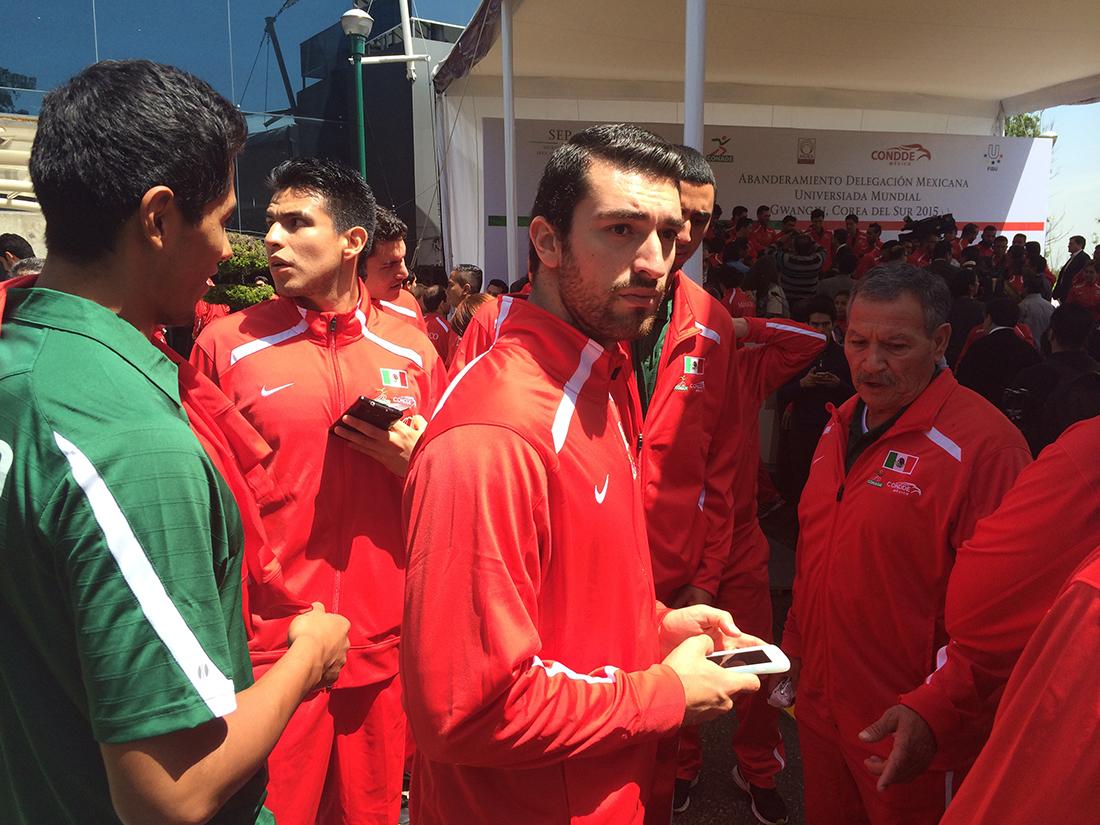 Abanderados y listos para la Universiada Mundial 2015 por viva basquet