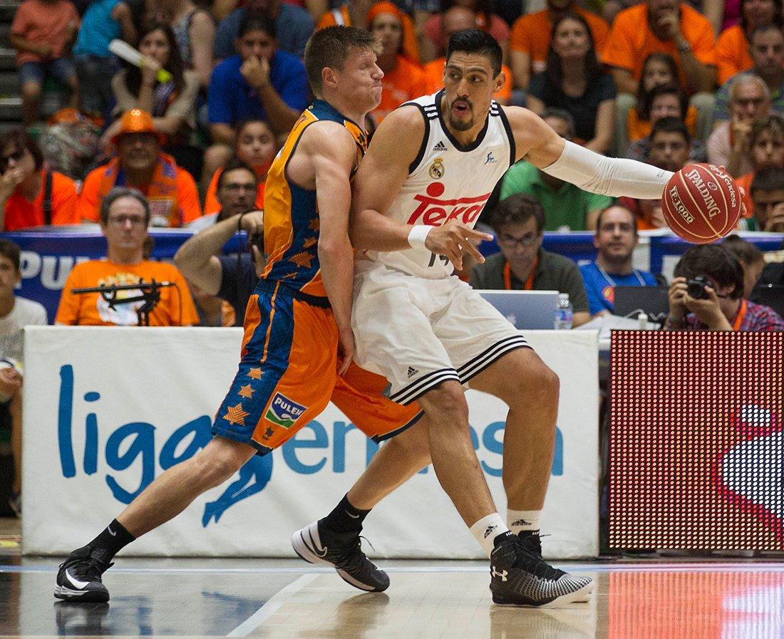 Ayón y el Real Madrid van por el cuarto título por viva basquet