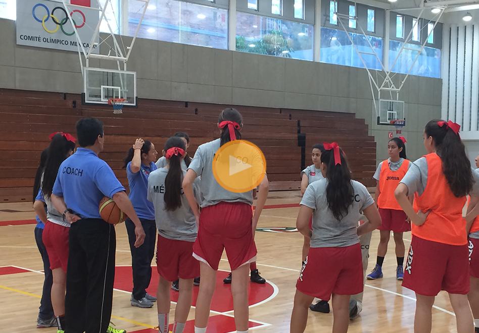 La preparación de la Selección Femenil Sub-16 por Viva Basquet