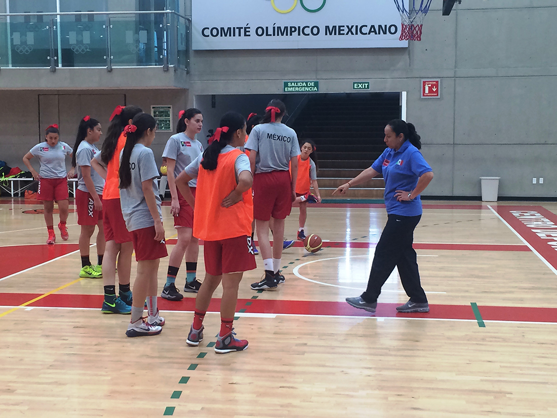 La U16 Femenil con la mira puesta en el FIBA Américas por viva basquet