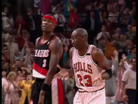 """Michael Jordan y la noche del """"The Shrug"""" por viva basquet"""