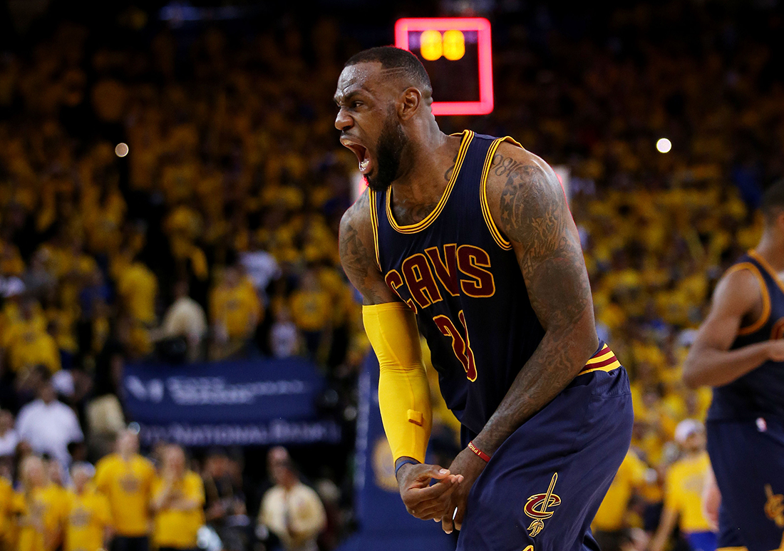 La noche de King James por viva basquet