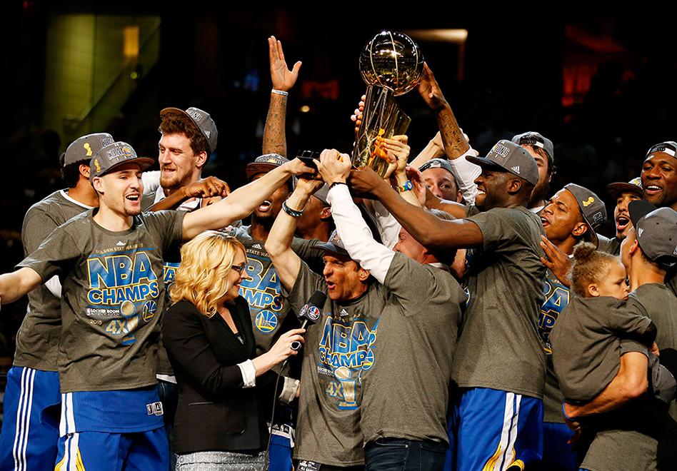 Warriors los nuevos reyes de la NBA por viva basquet