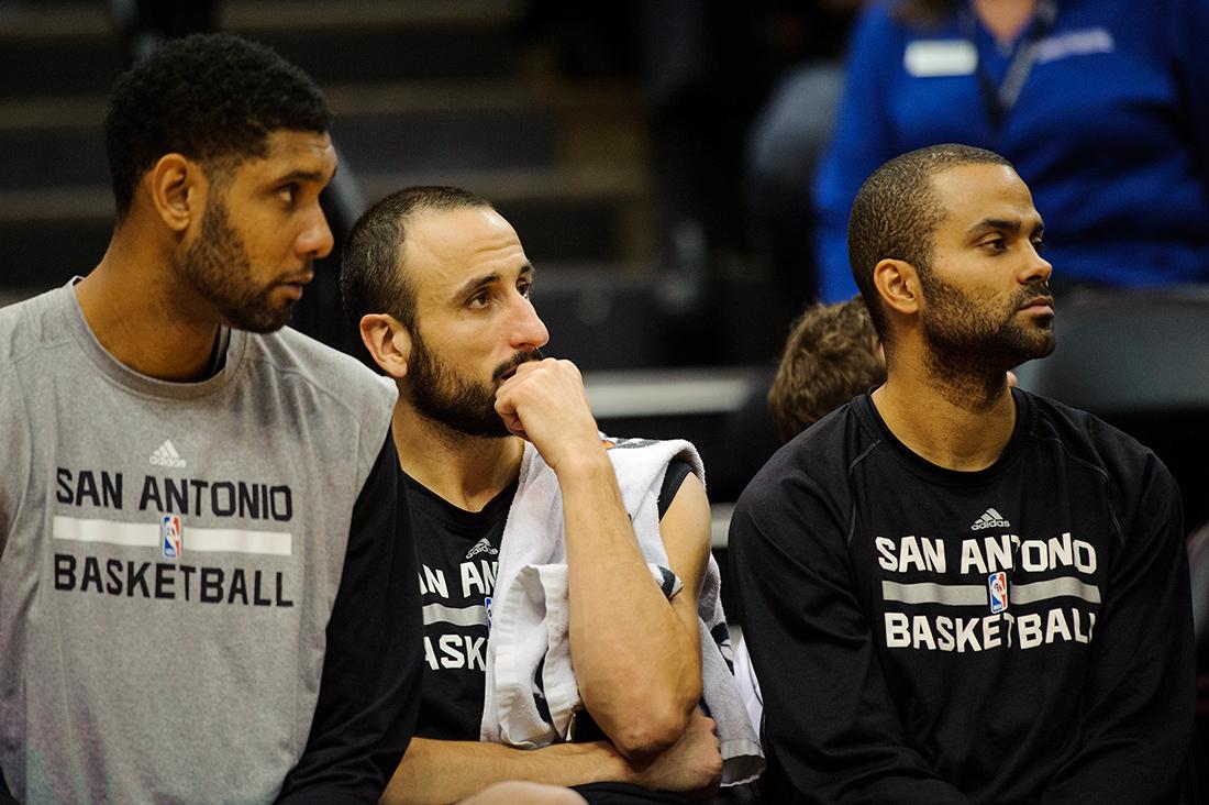 Big Three de Spurs