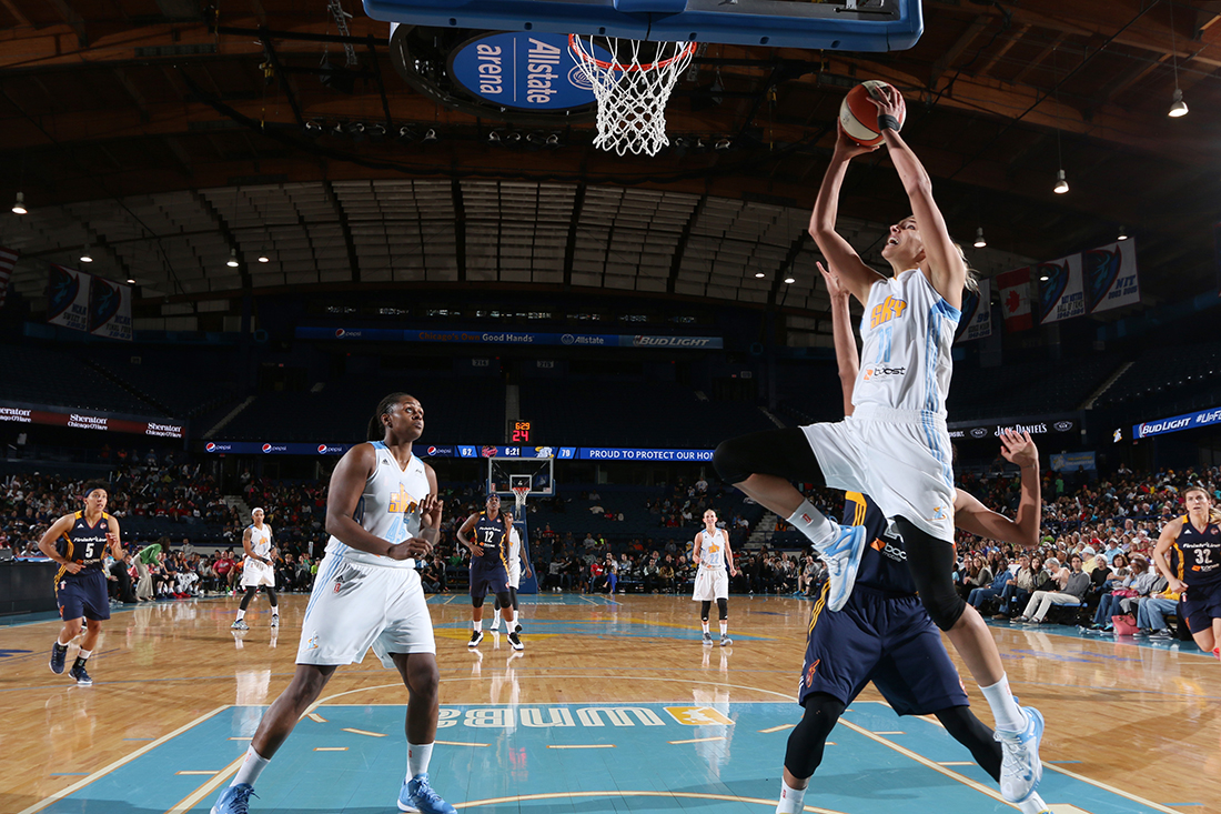 Arrancó la WNBA 2015 por viva basquet