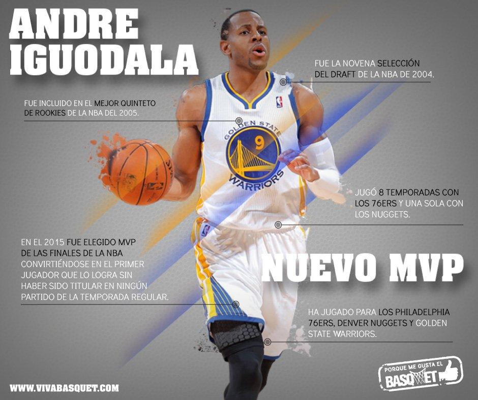 El nuevo MVP Andre Iguodala por Viva Basquet.
