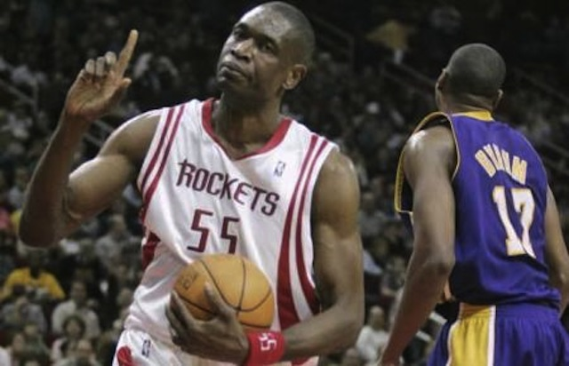 mutombo happy with rockets