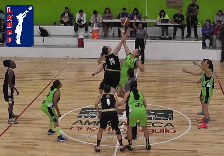 Marineras imparables en la LNBP Femenil por viva basquet