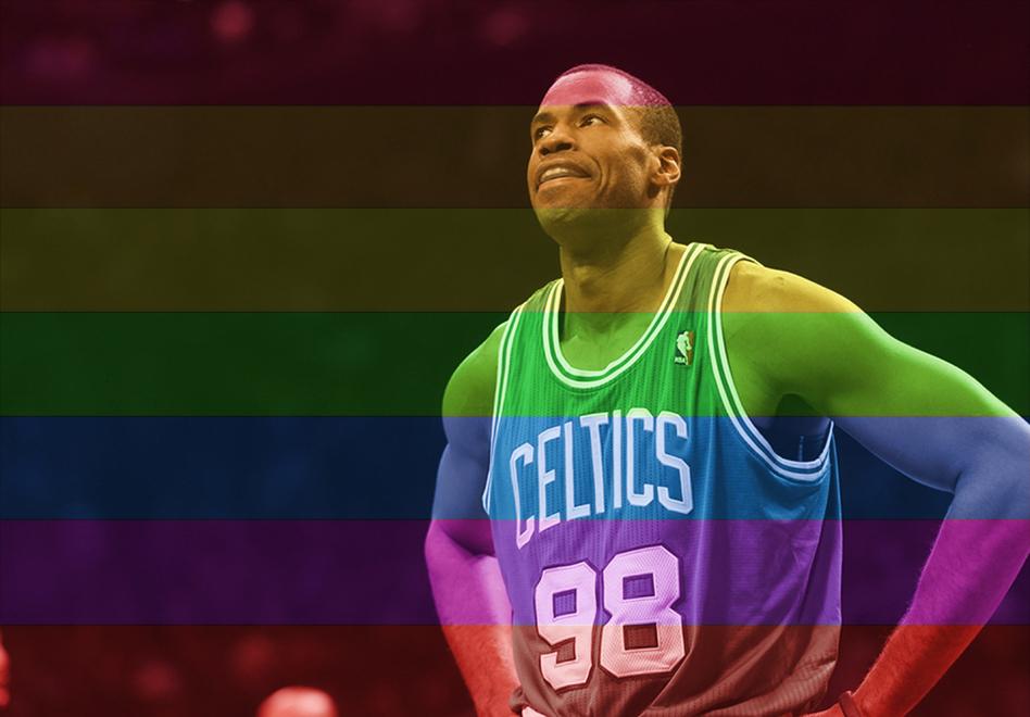 Jason Collins: El primer jugador de la NBA en aceptar su homosexualidad siendo activo.