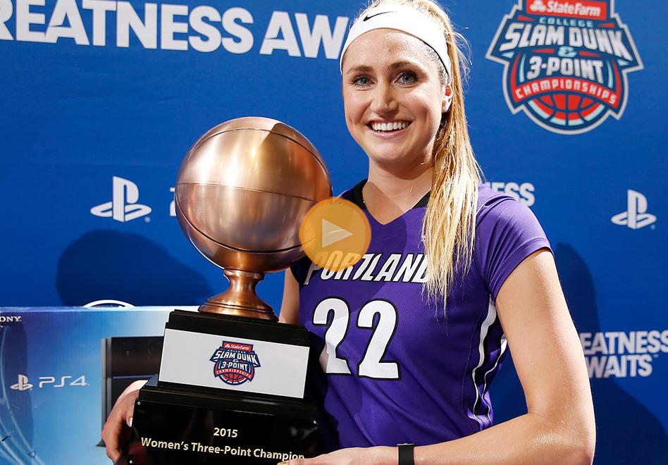 Cassandra Brown arrasa en los triples por viva basquet