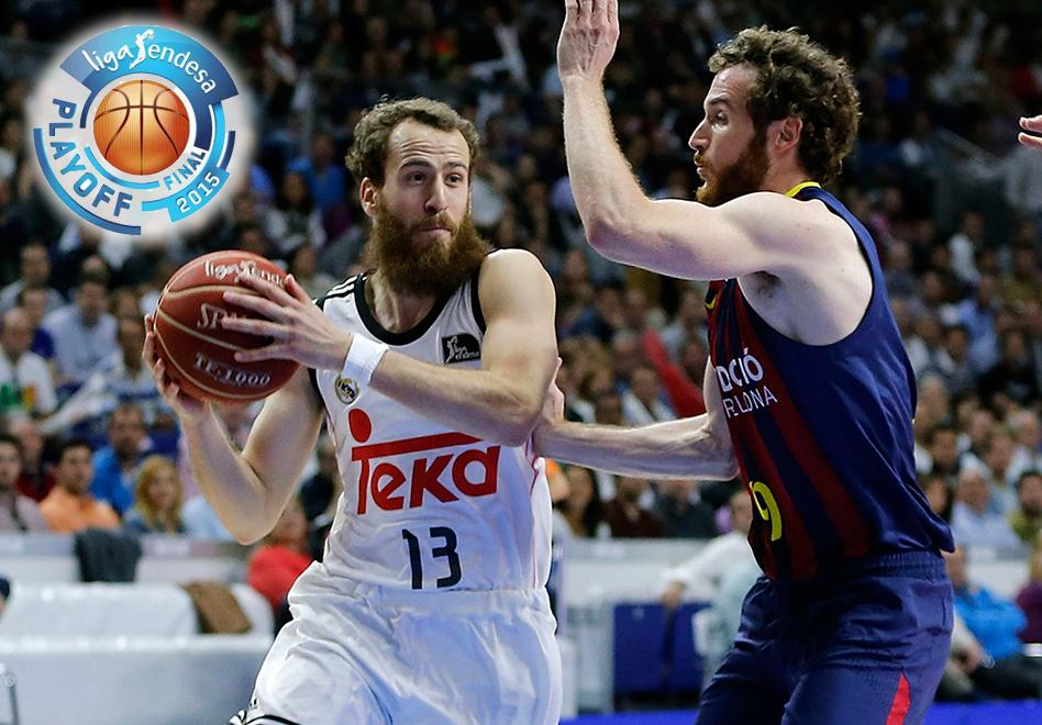 empiezan las finales de la liga endesa, real madrid contra barcelona por viva basquet