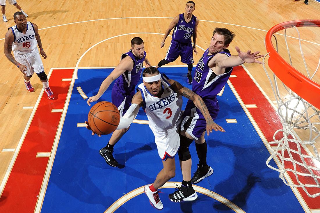 Allen Iverson. El príncipe de Filadelfia por viva basquet