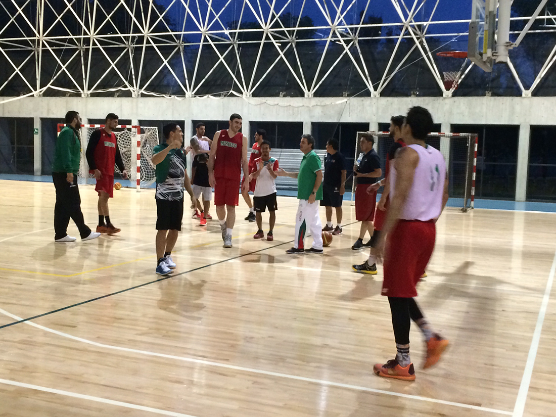 Partido a medias entre México y Panamá por viva basquet