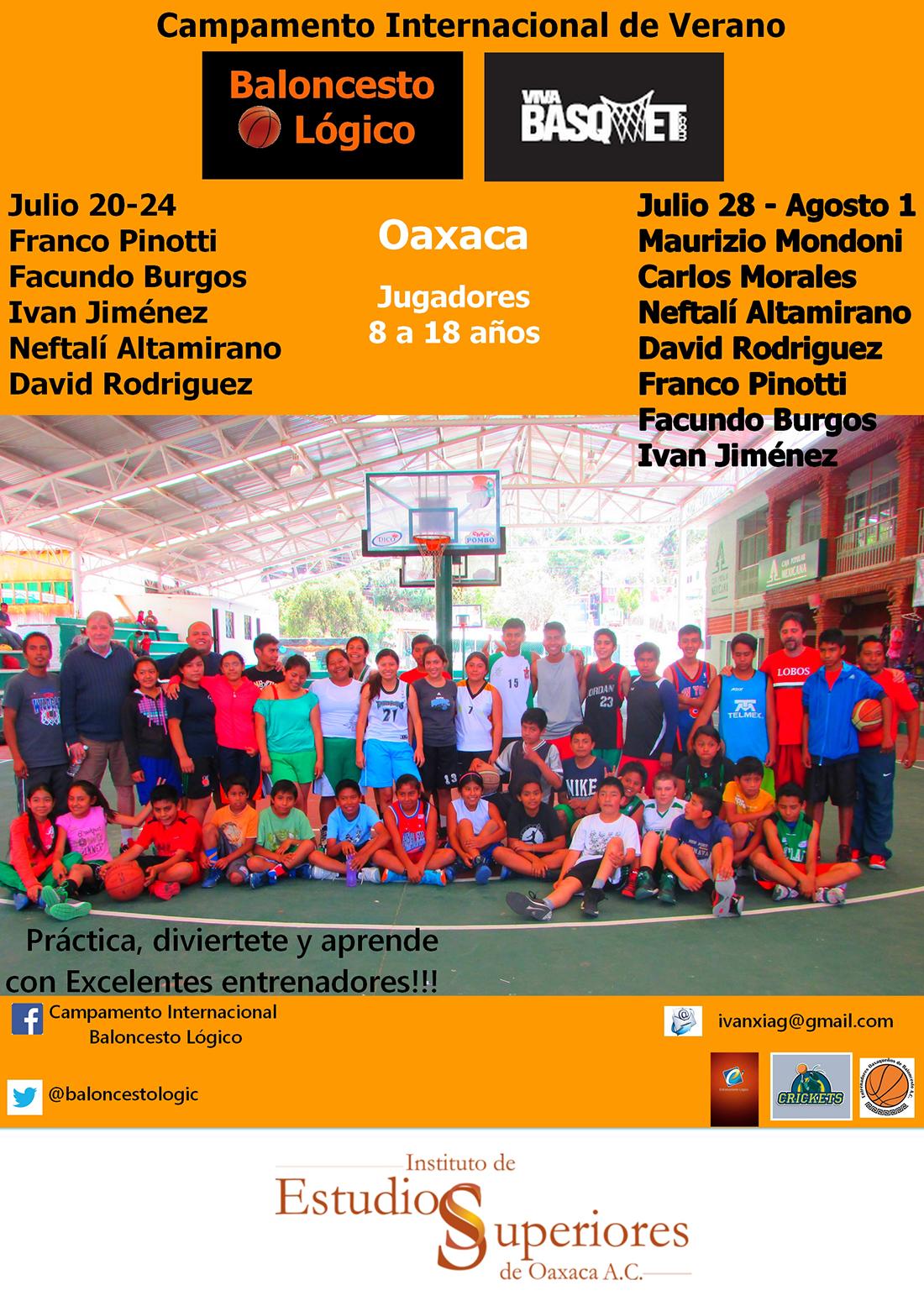 campamento internacional de verano baloncesto logico