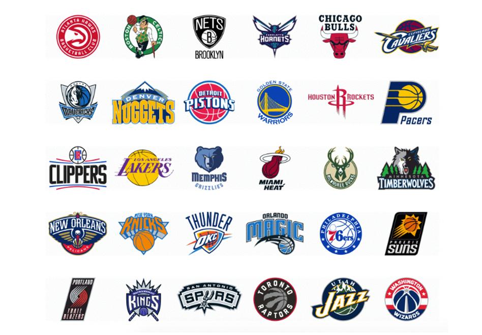 La evolución de los logos de la NBA por viva basquet