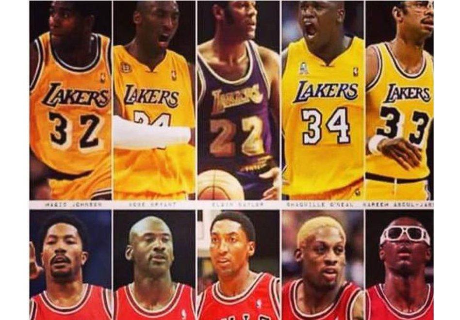 El reto del Shaq: ¿Lakers o Bulls?El reto del Shaq: ¿Lakers o Bulls?