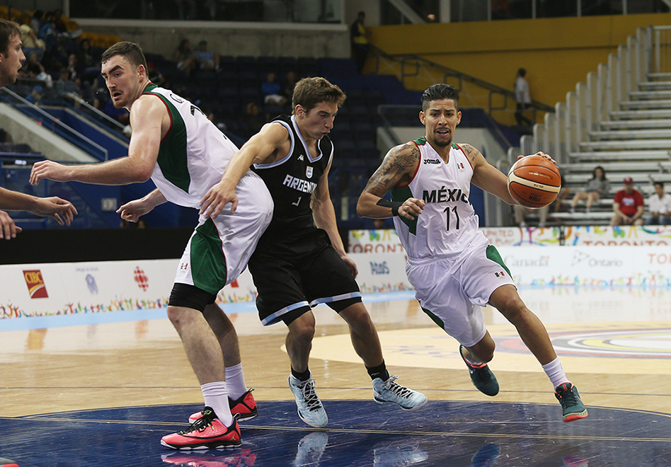 Sufrido triunfo de México ante Argentina en Toronto 2015 por viva basquet