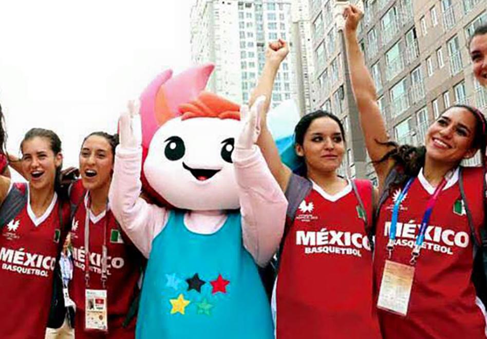La Selección Femenil Universitaria en Corea