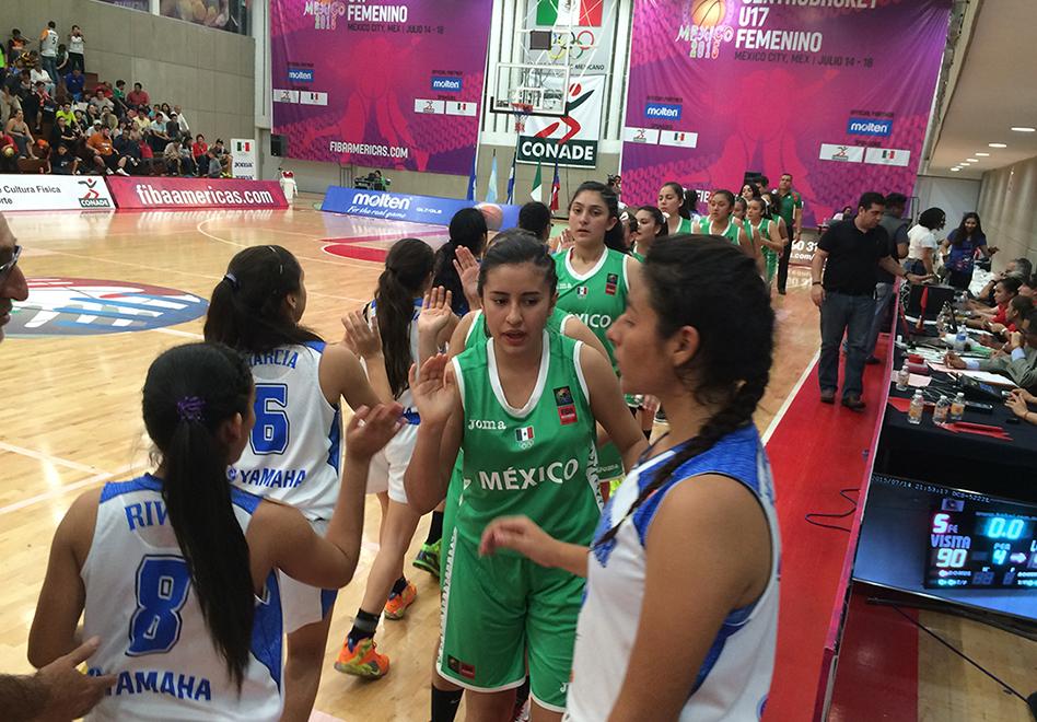 Aplastante debut en el Centrobasket U17 de FIBA Américas por viva basquet