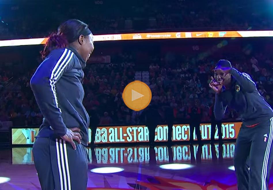 SI SE PRESENTAN LAS ESTRELLAS DE LA WNBA