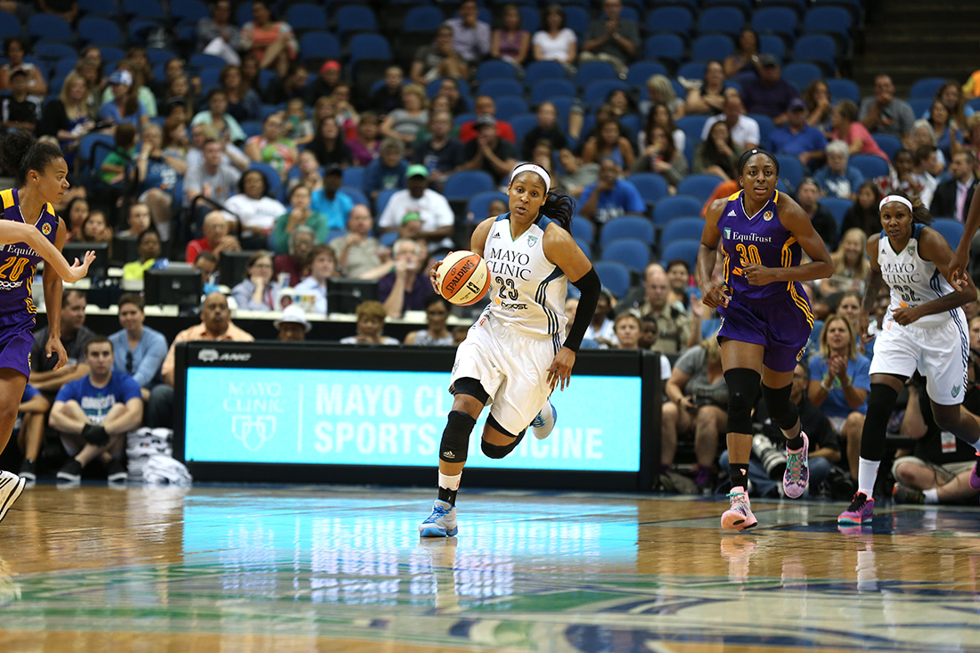 Maya Moore Copyright 2015 NBAE Photo by Jordan Johnson/NBAE via Getty Images