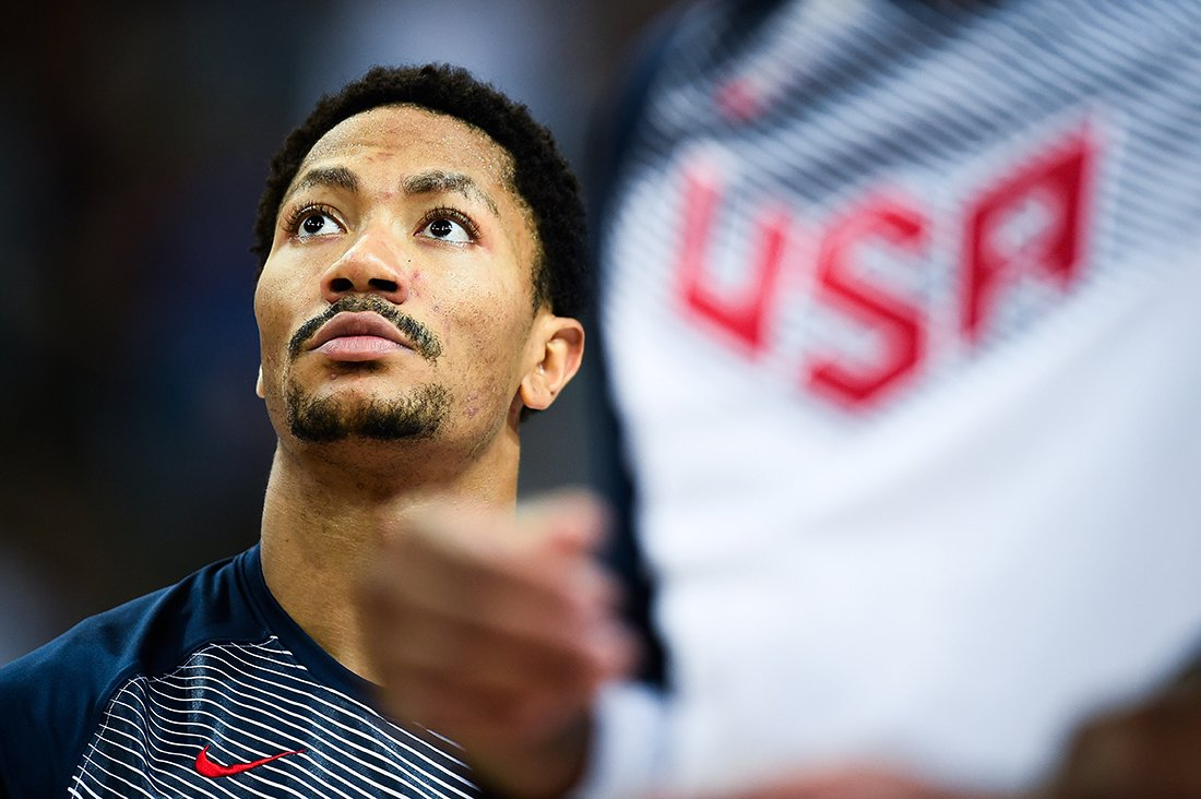 Derrick Rose duda jugar con Estados Unidos por viva basquet