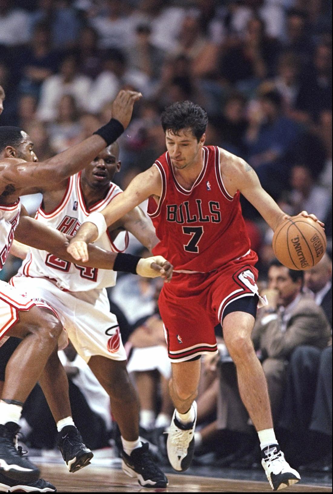 Toni Kukoc regresa a los Bulls.