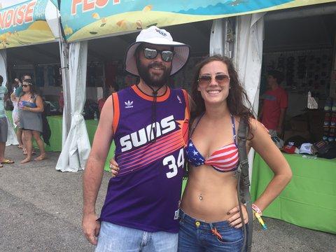 Hoopsters de Freshest Festival poir viva basquet