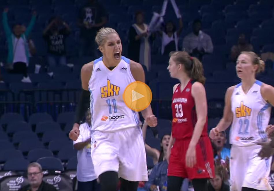 Las 5 mejores de la semana en la WNBA