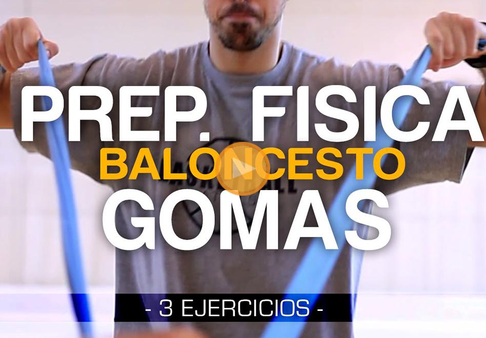 3 ejercicios usando para mejorar tu fuerza usando una goma elástica por Viva Basquet