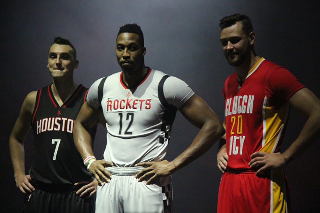Los Rockets estrenan uniforme para temporada 2015