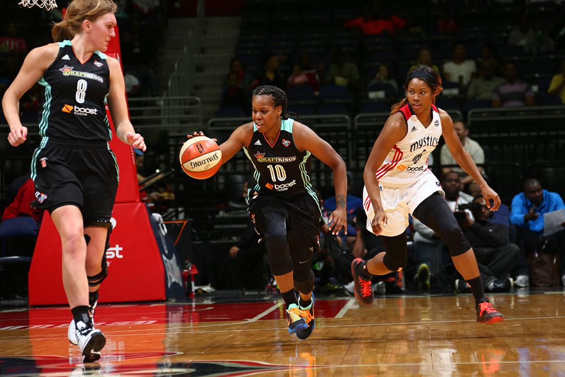 Playoffs WNBA: Liberty y Sparks en la pelea.