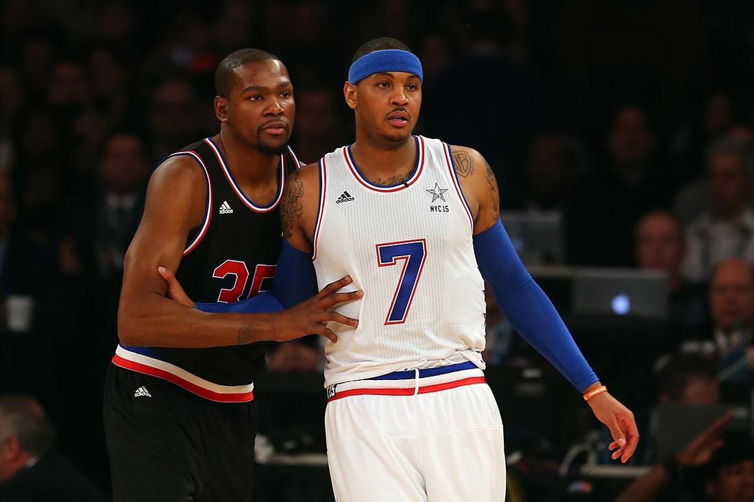 Carmelo y Durant ¿juntos en los Knicks?