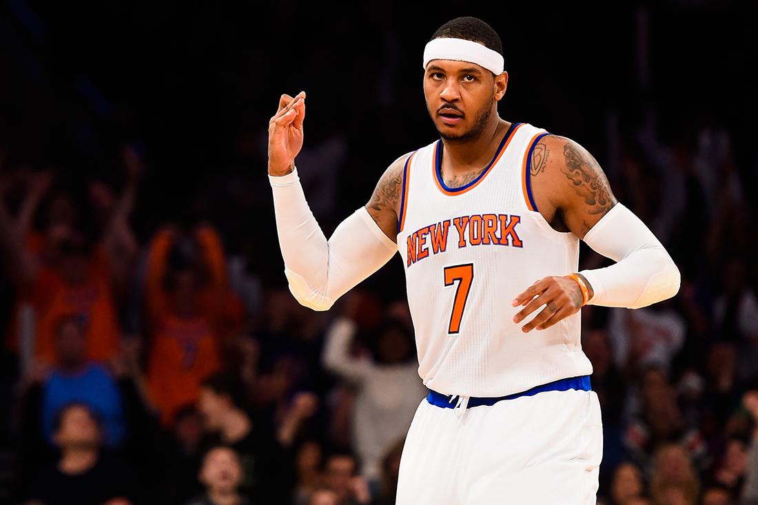 Melo confia en sus Knicks por viva basquet