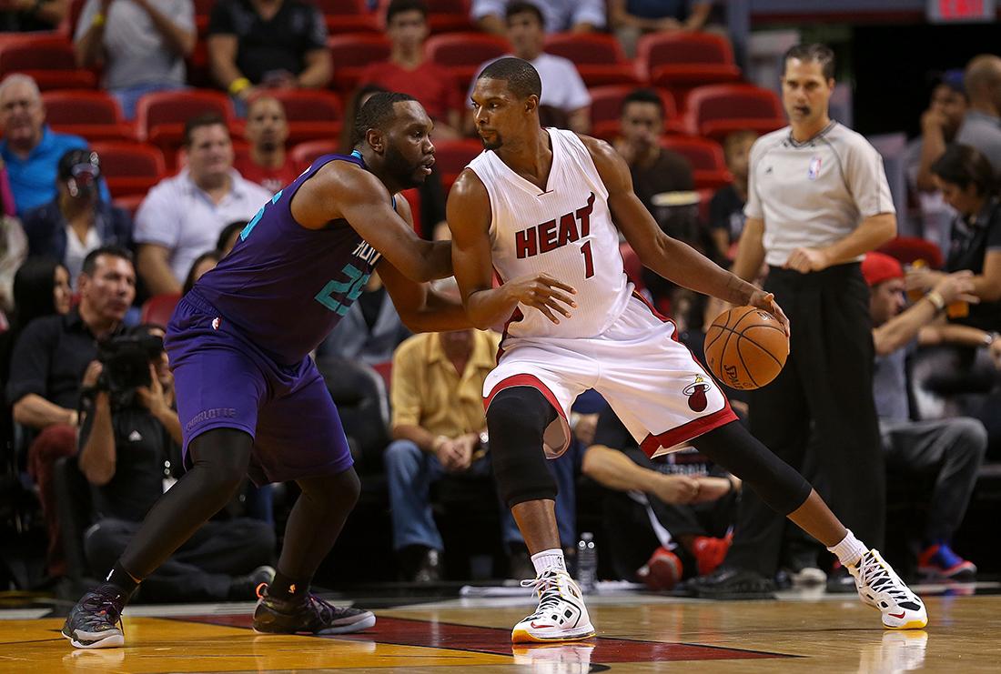 Chris Bosh alista su regreso a la NBA despues de ser diagnosticado con cuagulos de sangre en los pulmones