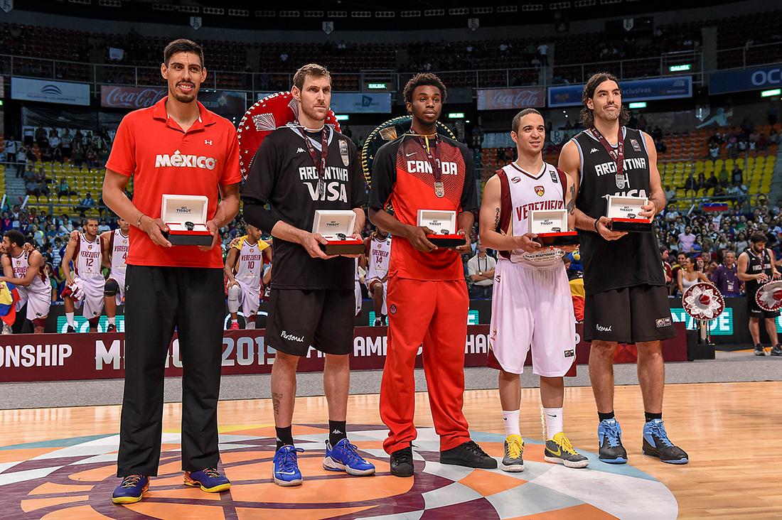 Gustavo Ayón en el Equipo Ideal de FIBA Américasv