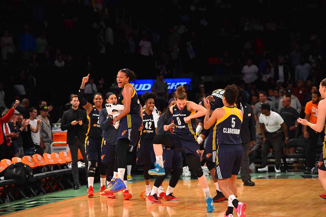 Indiana Fever se apunta en las Finales de la WNBA
