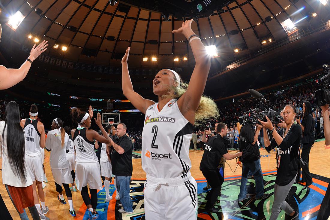 Se arman las finales de conferencia en la WNBA
