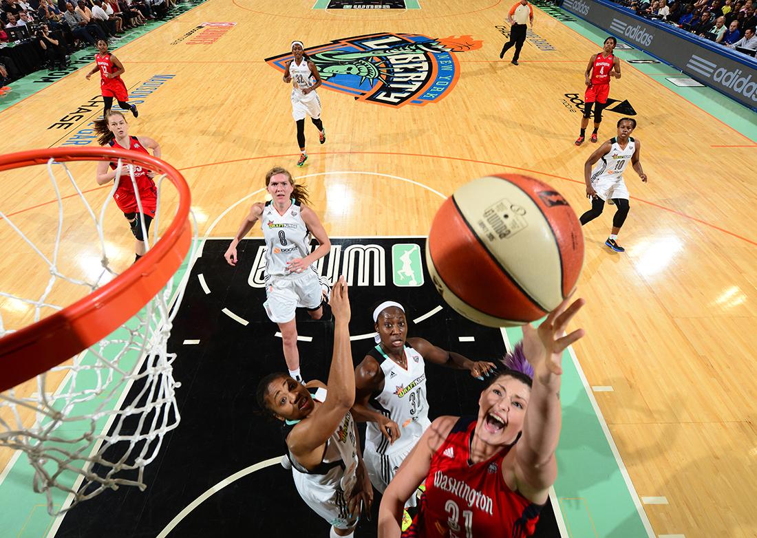 Victorias para Minnesota y Washington en la WNBA