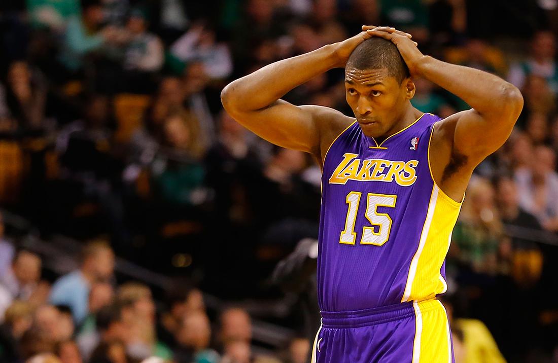 Metta World Peace de vuelta en Lakers