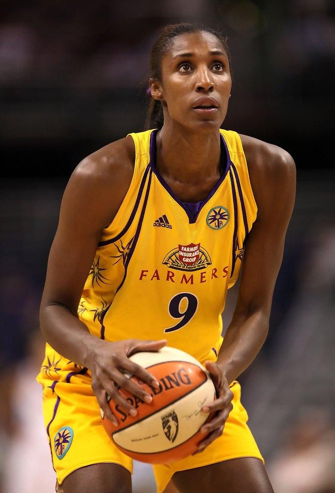 lisa leslie de la WNBA en vivabasquet